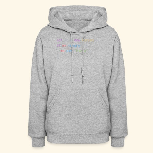 Pizza Code - Colored Version - Women's Hoodie