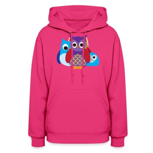 Cute Owls Eyes - Women's Hoodie