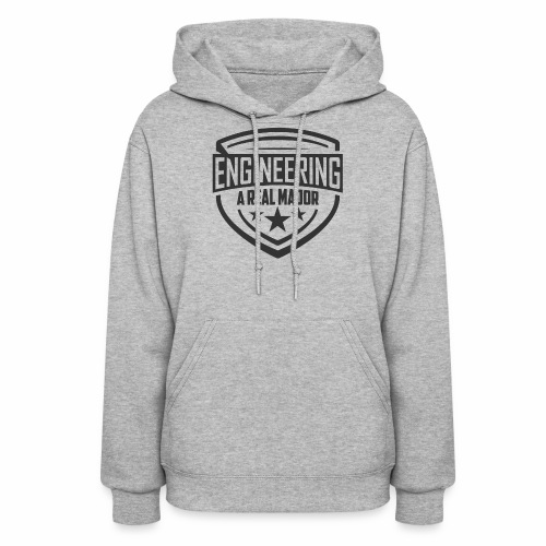 Engineering A Real Major Apparel - Shield Design - Women's Hoodie