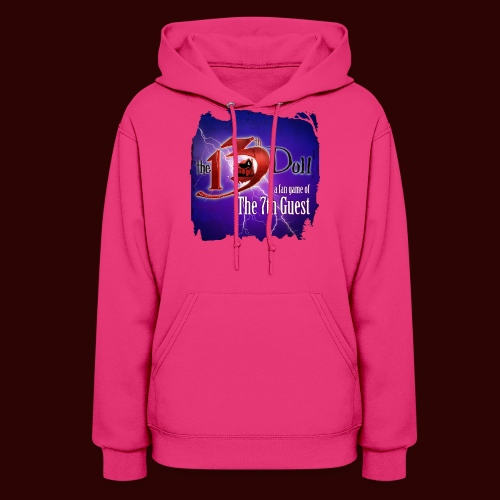 The 13th Doll Logo With Lightning - Women's Hoodie