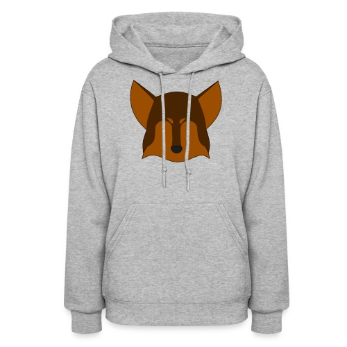Simple Wolf Head - Women's Hoodie