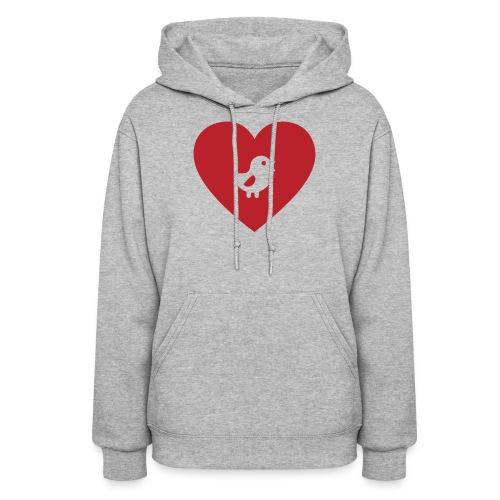 Heart Chick - Women's Hoodie