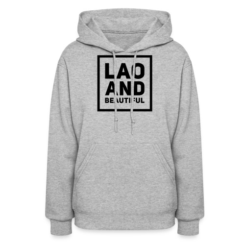 LAO AND BEAUTIFUL black - Women's Hoodie