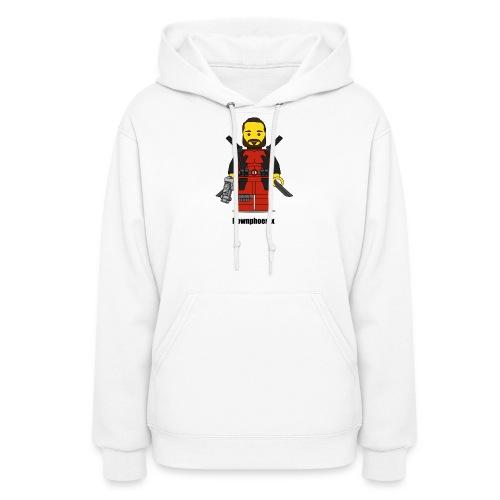 Downphoenix Character Logo - Women's Hoodie