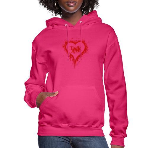 I Love Ink_red - Women's Hoodie