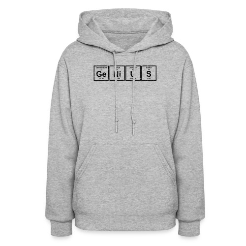 Genius (Periodic Elements) - Women's Hoodie