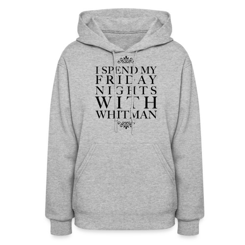 WHITMANfr png - Women's Hoodie