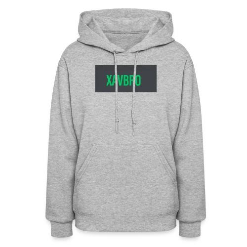 xavbro green logo - Women's Hoodie