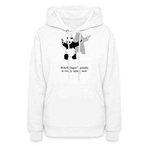 Schrödinger's panda is really upset now - Women's Hoodie