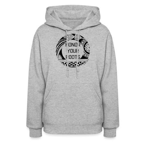 Honor Your Roots (Black) - Women's Hoodie