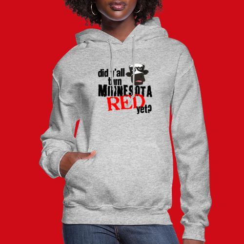 Turn Minnesota Red - Women's Hoodie