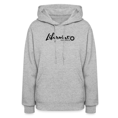 Logo Horizontal Black - Women's Hoodie