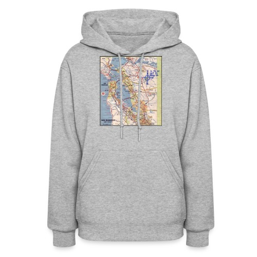 Phillips 66 Zodiac Killer Map June 26 - Women's Hoodie