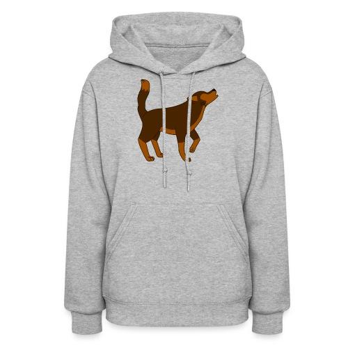 KR ASMR Howling Wolf - Women's Hoodie
