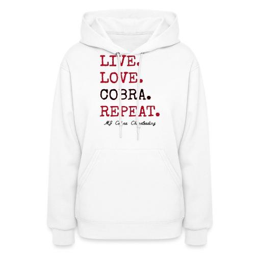 Live Love Cobra - Women's Hoodie