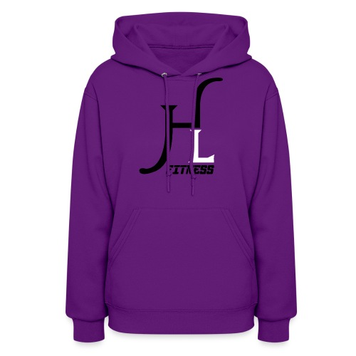 HIIT Life Fitness logo white - Women's Hoodie