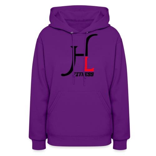 HIIT Life Logo Red - Women's Hoodie