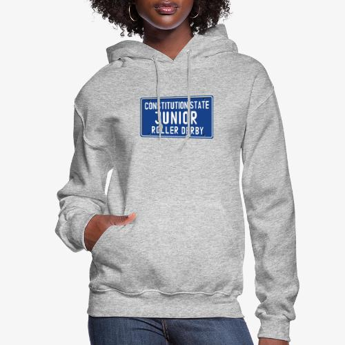 Constitution State Junior Roller Derby - Women's Hoodie