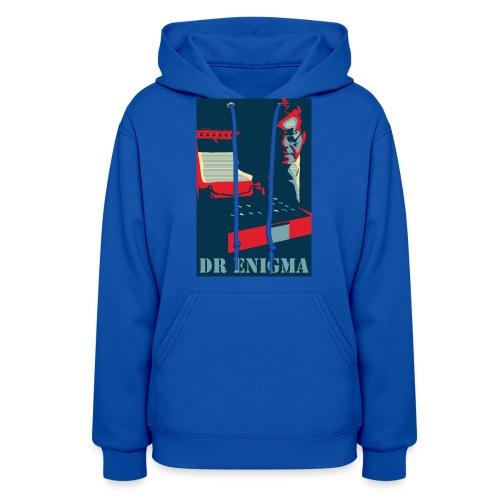 Dr Enigma+Enigma Machine - Women's Hoodie