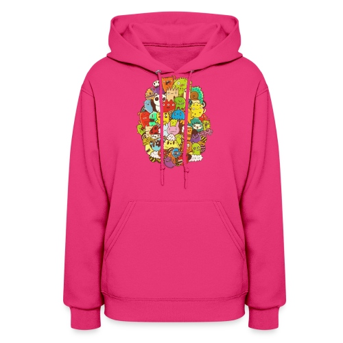 Doodle for a poodle - Women's Hoodie