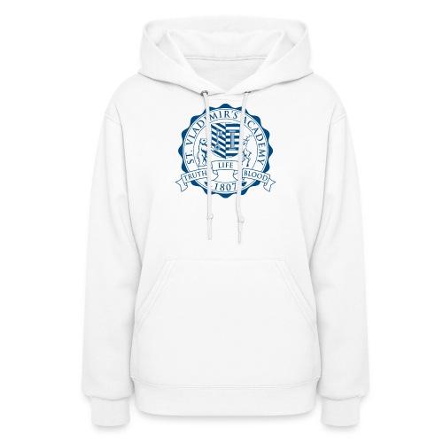 stv crest navy lmdesigns - Women's Hoodie