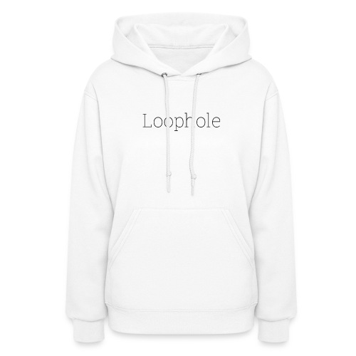 Loophole Abstract Design - Women's Hoodie
