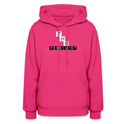 The Pessimist Abstract Design - Women's Hoodie