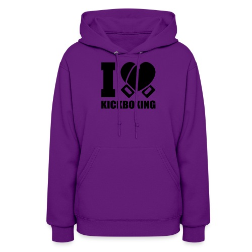 I Love Kickboxing - Women's Hoodie