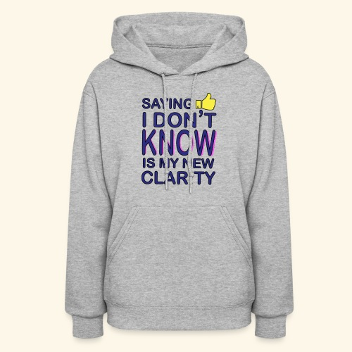 new clarity - Women's Hoodie