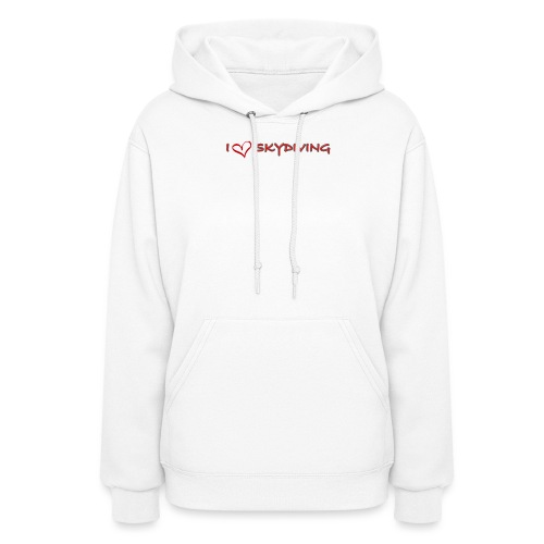 I love skydiving T-shirt/BookSkydive - Women's Hoodie