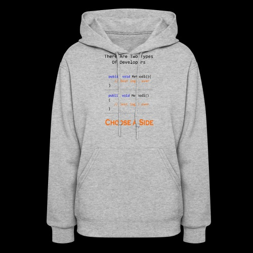 Code Styling Preference Shirt - Women's Hoodie