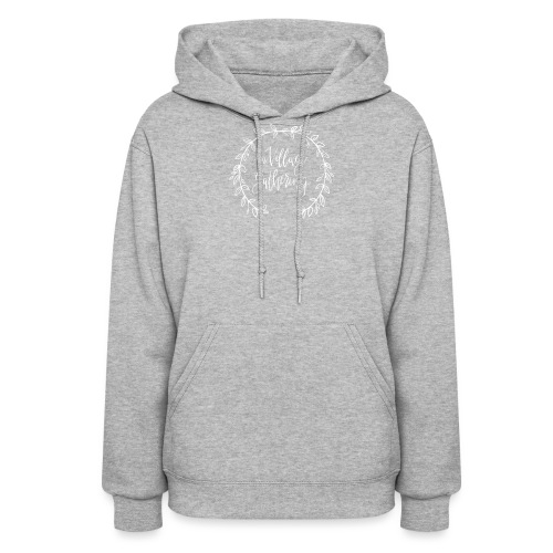The Village Gathering // White Logo - Women's Hoodie