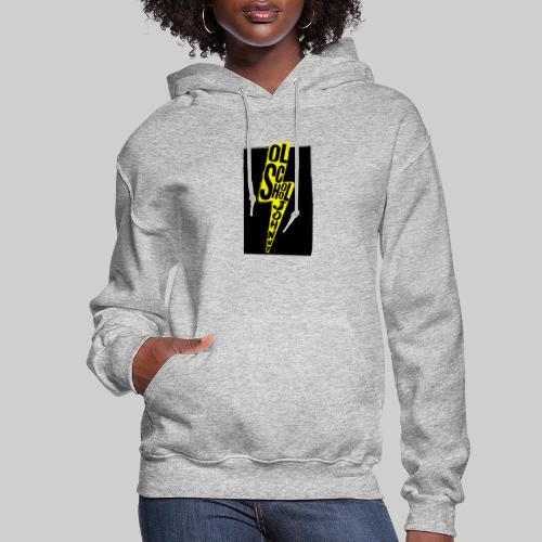 Ol' School Johnny Colour Lightning - Women's Hoodie
