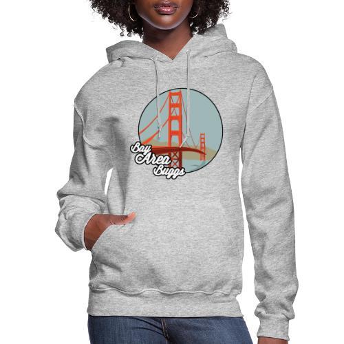 Bay Area Buggs Bridge Design - Women's Hoodie