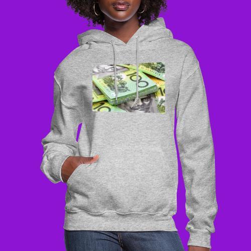 Australian Dollar 100 Notes 1 - Women's Hoodie