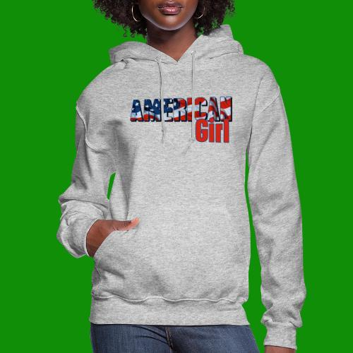 AMERICAN GIRL - Women's Hoodie