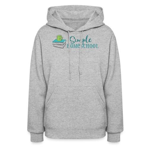 Simple Homeschool Logo - Women's Hoodie