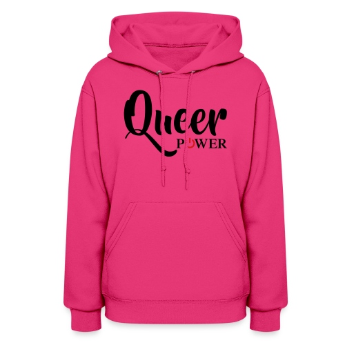 Queer Power T-Shirt 04 - Women's Hoodie