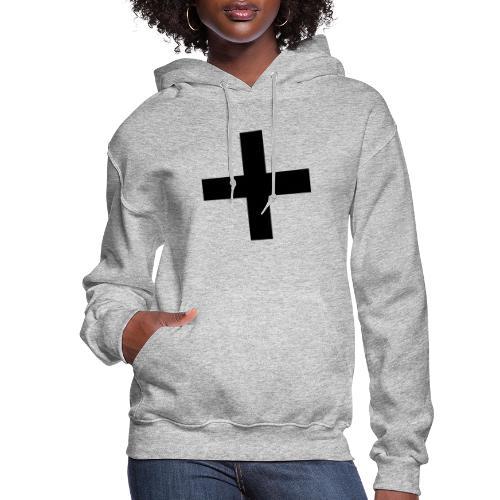 Plus Brandmark Black - Women's Hoodie