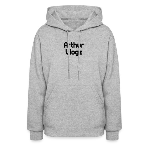 Answer Text Arthur Vlogz Colored Apperal - Women's Hoodie