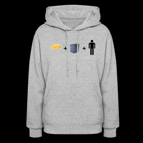 Macaroni Pocket Man Shirt - Women's Hoodie