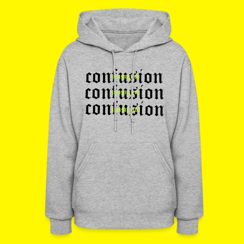 upside down confusion - Women's Hoodie