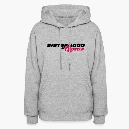Sisterhood of Muscle (Black) - Women's Hoodie
