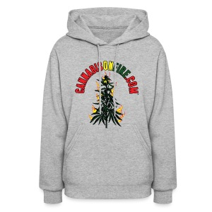 Cannabis On Fire T-Shirt 420 Cannabis Wear 2017 - Women's Hoodie
