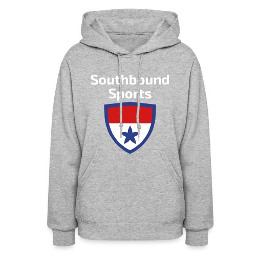 The Southbound Sports Shield Logo. - Women's Hoodie