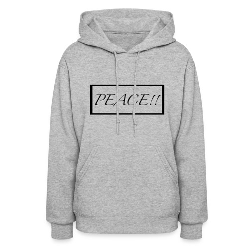 PEACE!! merch - Women's Hoodie