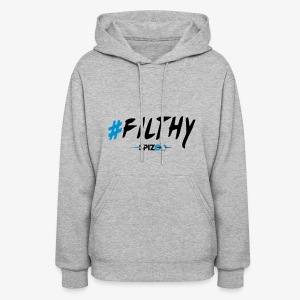 #Filthy white - Spizoo Hashtags - Women's Hoodie