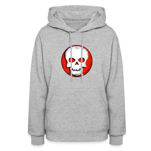 Skull Zone Logo - Women's Hoodie