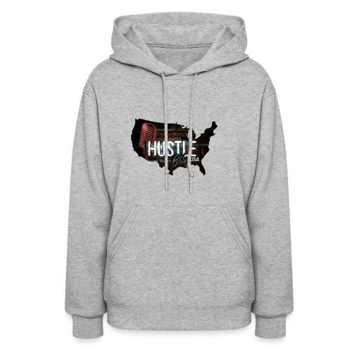 Hustle_City_USA - Women's Hoodie