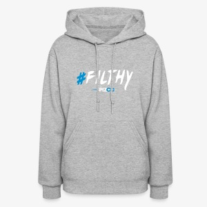 #Filthy Black - Spizoo Hashtags - Women's Hoodie
